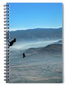 Soaring Ravens Spiral Notebook