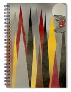 Soaring Swallow Spiral Notebook