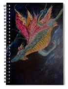 Soaring Through The Sky Spiral Notebook