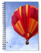 Soaring With The Birds Spiral Notebook