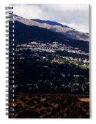 Socal Fire Road Spiral Notebook