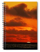 Socal Sunset Spiral Notebook