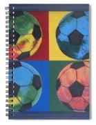 Soccer Balls Spiral Notebook