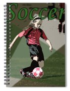 Soccer Style Spiral Notebook
