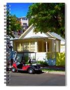 Social Visit Spiral Notebook