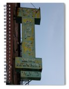 Society Hill Hotel Bar Sign Spiral Notebook