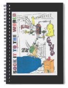 Sock It To The World Spiral Notebook