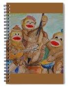 Sock-n-roll Spiral Notebook