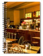 Soda Fountain In Birmingham Alabama Spiral Notebook