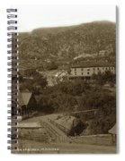 Soda Springs And Cliff House In Manitou, Colorado Spiral Notebook