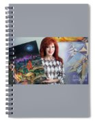 Sofia Goldber - About Mars Civilization. 5 Spiral Notebook