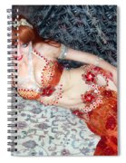 Sofia Metal Queen. Ameynra Bellydance Star Model Spiral Notebook