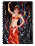 Sofia Metal Queen - Belly Dancer Model At Ameynra Spiral Notebook