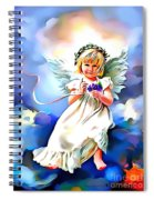 Soft And Dreamy Sweet  Spiral Notebook