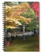 Soft Autumn Pond Spiral Notebook