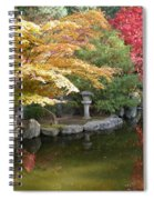 Soft Autumn Pond Spiral Notebook