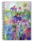 Soft Breezes Spiral Notebook