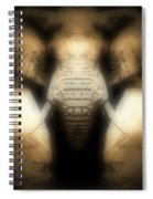 Soft Brown Elephant Spiral Notebook