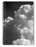 Soft Clouds Spiral Notebook
