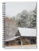 Soft Colors In The Snow Spiral Notebook