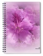 Soft Edged Floral Spiral Notebook