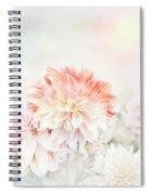 Soft Focus Floral Background Spiral Notebook
