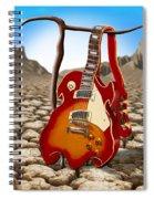 Soft Guitar II Spiral Notebook