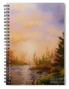 Soft Landscape Spiral Notebook