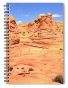 Soft Light On Vermilion Cliffs Spiral Notebook