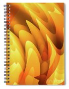 Soft Peaks Spiral Notebook
