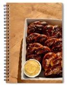 Soft Pretzel  Spiral Notebook