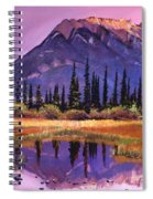 Soft Shades Of Reflections Spiral Notebook