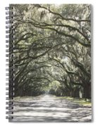 Soft Southern Day Spiral Notebook