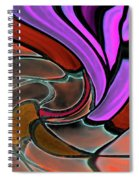 Softening Like Flowers Spiral Notebook