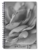 Softly I Wilt Spiral Notebook