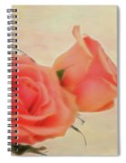 Softly Peach Spiral Notebook