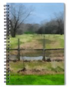 Soggy Texas Bayou Spiral Notebook