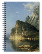 Sogne Fjord Norway  Spiral Notebook