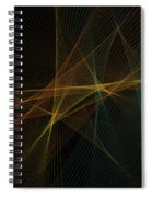 Soil Computer Graphic Line Pattern Spiral Notebook