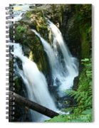 Sol Duc Falls Spiral Notebook