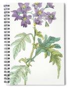 Solanum Quercifolium Spiral Notebook