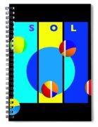 Solar Activity Spiral Notebook