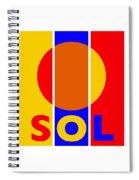 Solar Spiral Notebook