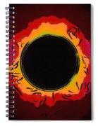 Solar Eclipse 3 Spiral Notebook