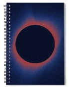 Solar Eclipse, As Seen Above Madras, Oregon, U.s. By Nasa 6 Spiral Notebook