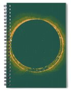 Solar Eclipse By Hinode Observes, Nasa 4 Spiral Notebook