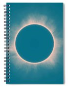 Solar Eclipse In Morning  Color Spiral Notebook