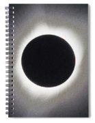 Solar Eclipse Of 2017 2 Spiral Notebook