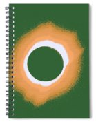 Solar Eclipse Poster 4 B Spiral Notebook
