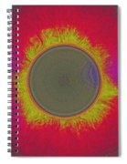 Solar Eclipse Spectrum 3 Spiral Notebook